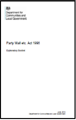 Free publications faculty of party wall surveyors for Find a party wall surveyor